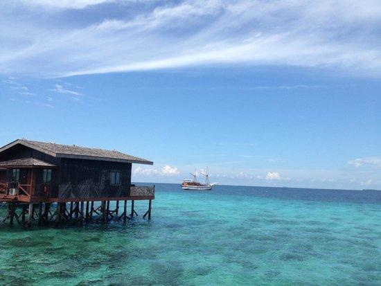 Pom Pom Island Resort & Spa : panorama water villa