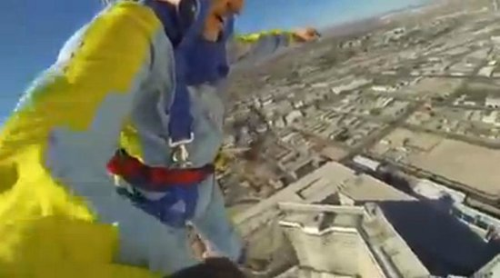Stratosphere Tower: Coming Down!