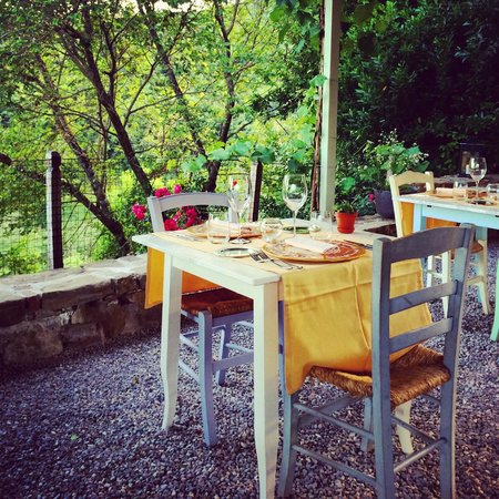 Borgo di Carpiano: Dining all'aperto