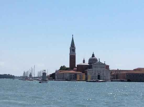 View of San Giorgio Maggiore from St. Marks Square