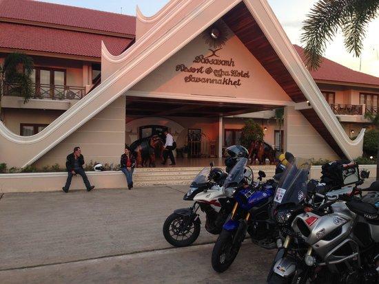 Daosavanh Resort & Spa Hotel : Hotel main building