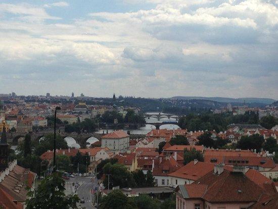Premier Prague Tours: Vista desde el parque Letná (en Czech Letenské sady)