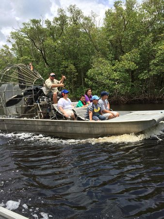 Jungle Erv's Everglades Airboat Tours: A great boat ride