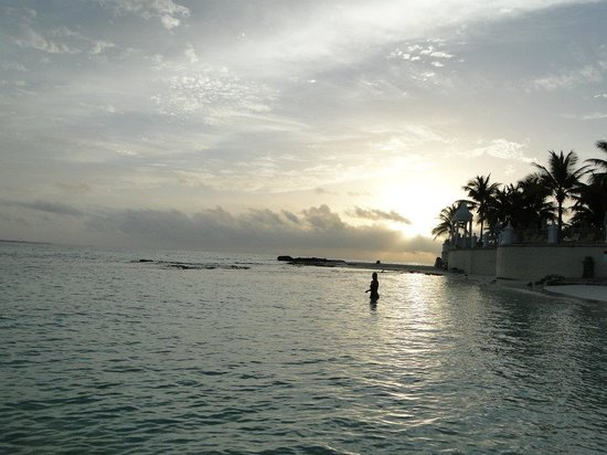 Hotel Riu Cancun: praia do hotel (parte ela)