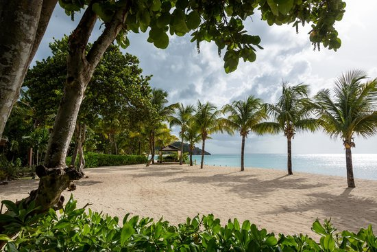Galley Bay Resort: Beach view from Ismay's