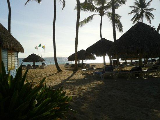Tropical Princess Beach Resort & Spa : Cabañitas frente a la playa