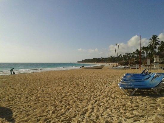Tropical Princess Beach Resort & Spa : Playa 8am