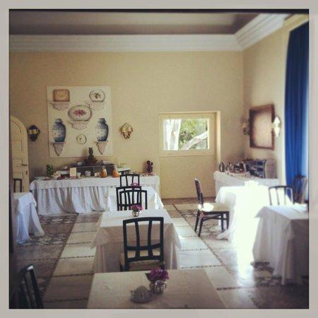 Hotel Castillo de Santa Catalina: Comedor desayunos