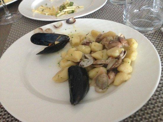 Hotel San Marco: Gnocchi alle Cozze e vongole
