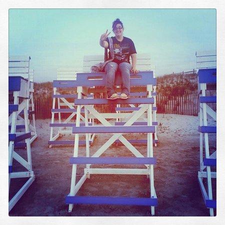 Howard Johnson Wildwood Boardwalk: Kandace the lifeguard !