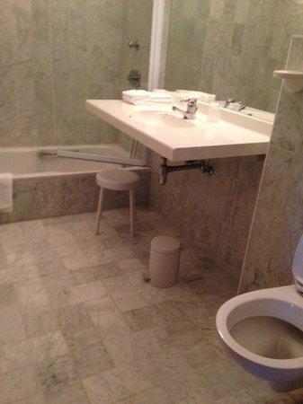Hotel Abbey: Standard Bathroom