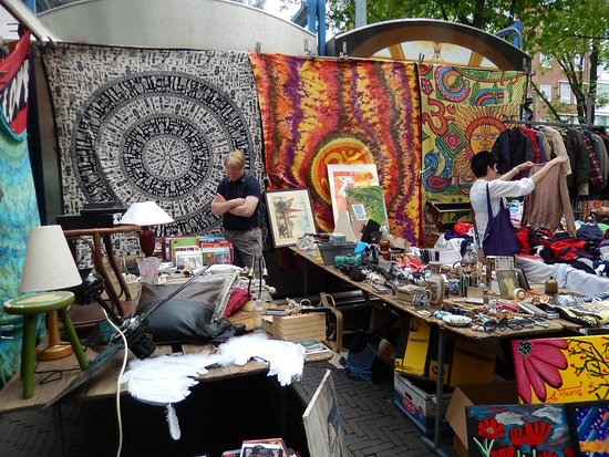 Photo of Tourist Attraction Waterlooplein Market at Behind The Amsterdam Townhall, Amsterdam, Netherlands