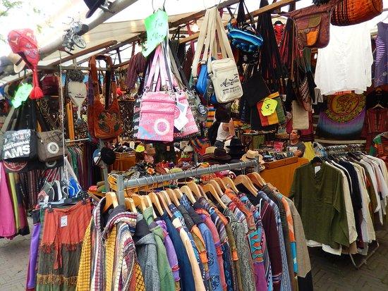 waterlooplein market - abbigliamento e borse