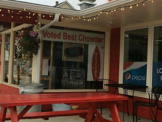 Bob's Chowder Bar & BBQ Salmon: Voted 'best' by whom?