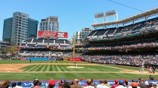 Petco Park: Right field view
