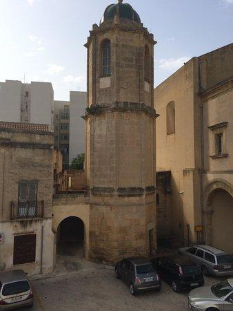 Carmine Hotel : En face de notre balcon