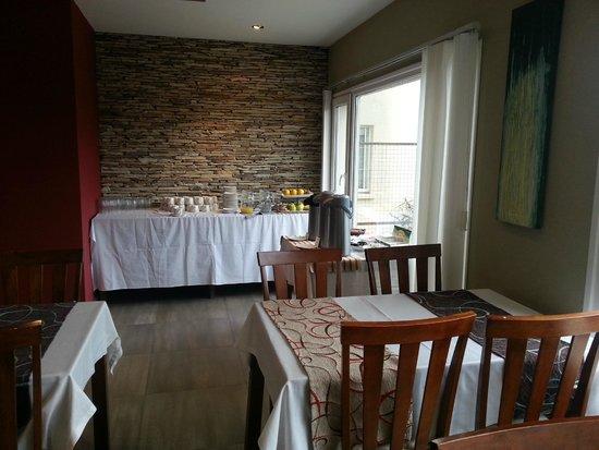 Quillen Hotel & Spa: Desayuno