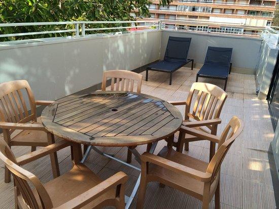 Magic Aqua Rock Gardens : One of our balconies