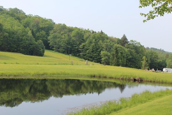 Greenwood Lodge and Campsites: view from campsite