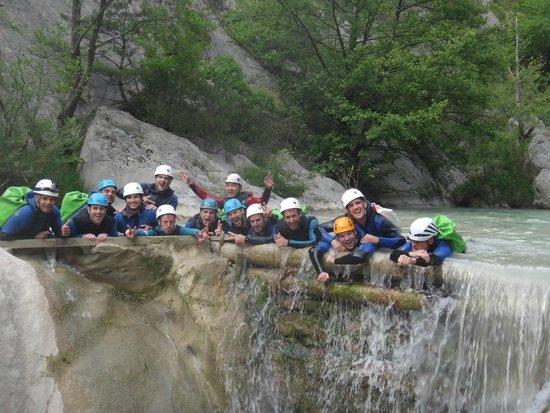Bureau des Guides de Canyon : une belle journée qui  fini dans la joie et la bonne humeur