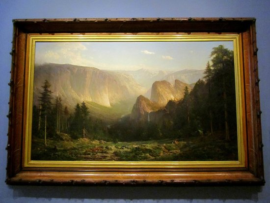 Crocker Art Museum : Great Canyon of the Sierra, Yosemite, 1871,  by Thomas Hill