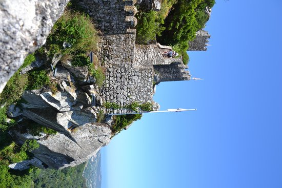 Castle of the Moors : vista no alto do castelo