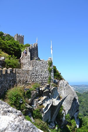 Castle of the Moors: vista no alto do castelo