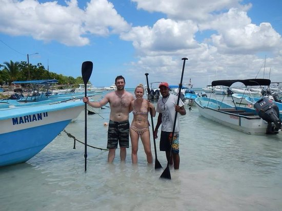 Bayahibe SUP (Stand Up Paddle Boarding): All done paddling!