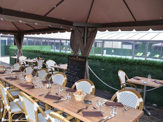 La Parenthese : Terrasse restaurant La Parenthèse