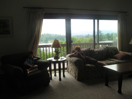 Mountain View Inn: living room