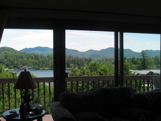 Mountain View Inn: view from living room