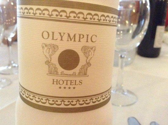 Olympic Regina Hotel: fermatovagliolo