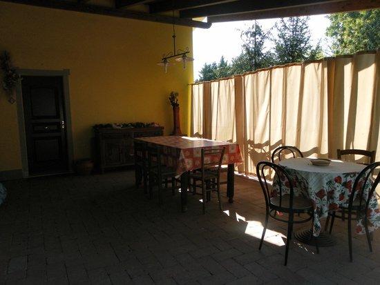I Casolari Bed & Breakfast: La terrazza