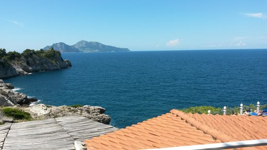 Hotel Delfino: A view from the balcony