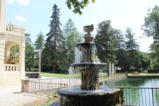 Club Domaine de Château Laval : parco