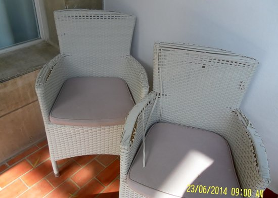 Be Live Adults Only La Cala Boutique: Our Balcony chairs