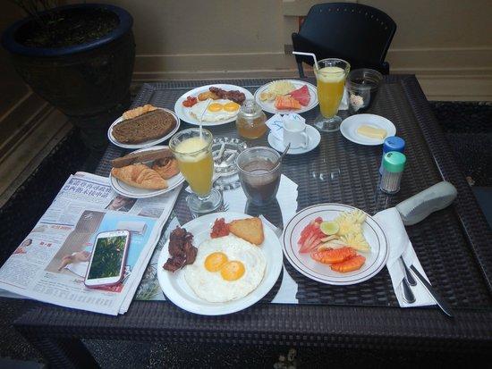 Tanah Merah Art Resort : delicious breakfast