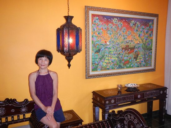 Tanah Merah Art Resort : the studio room we stay at the 1st night