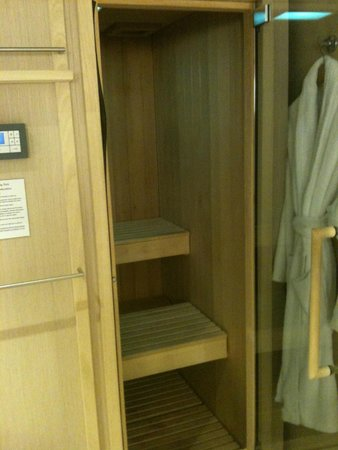 Rudding Park Hotel: Sauna in bathroom