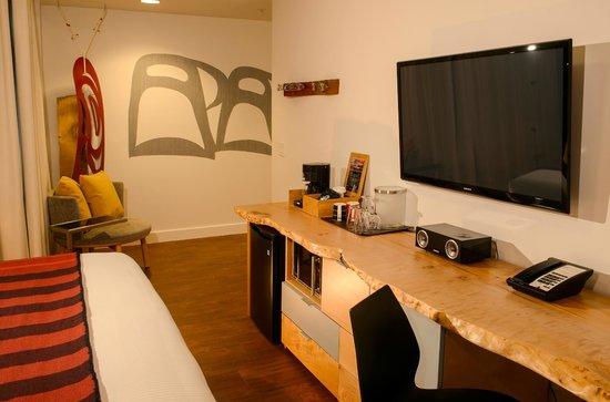 Skwachays Lodge: Room Amenities