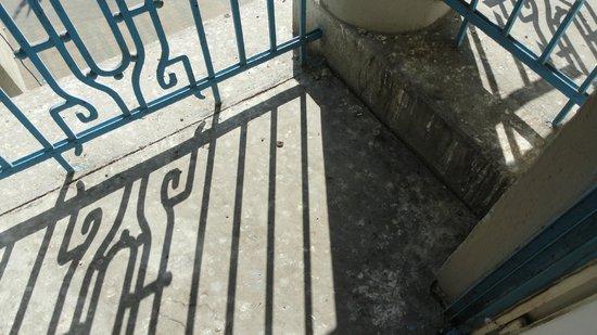 Civis Grand Hotel Aranybika: balcon sale