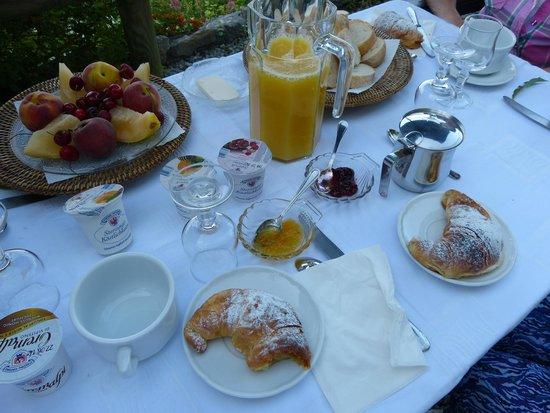 B&B Villa Pietra Fiore : les petits déjeuners