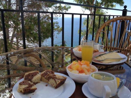 Hotel Albatros: colazione sul terrazzo