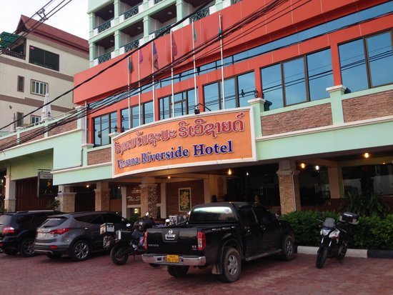 Vansana Riverside Hotel : Hotal Main Building