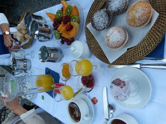 B&B Villa Pietra Fiore : petits déjeuners très variés