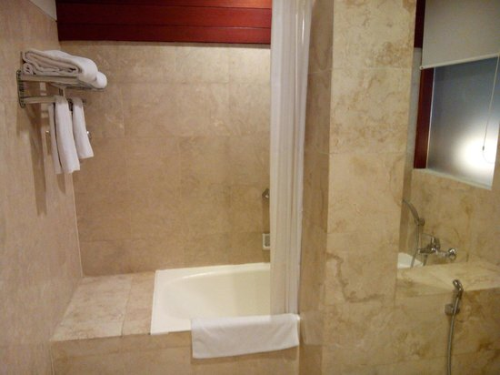 Hotel Bidakara Grand Savoy Homann Bandung: Bathtub