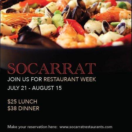 Socarrat Paella Bar: Restaurant Week