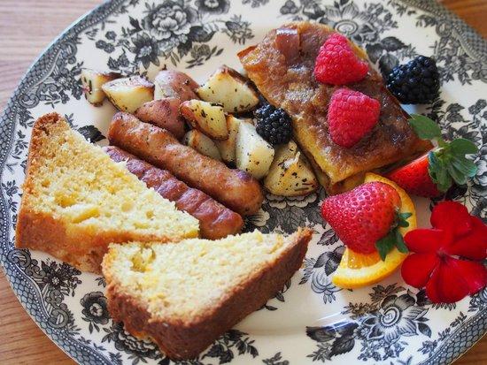 Bridgeton House on the Delaware: Delicious breakfast!