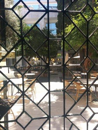 Hotel San Gil : Inner courtyard