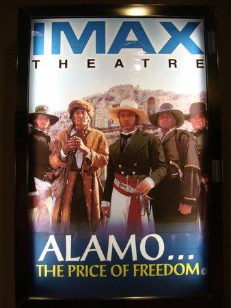 Alamo IMAX Theatre: IMAX Alamo movie poster